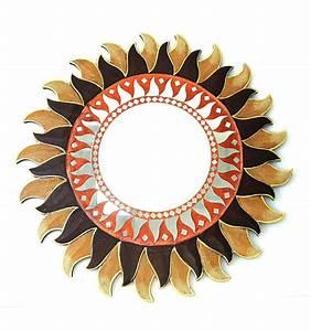 Grand Miroir Maison Du Monde : grand miroir rond soleil d co murale maison du monde ~ Nature-et-papiers.com Idées de Décoration