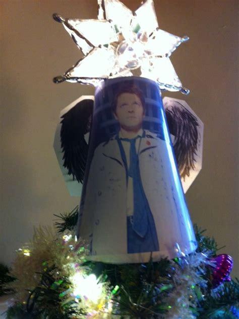castiel christmas tree topper castiel tree topper