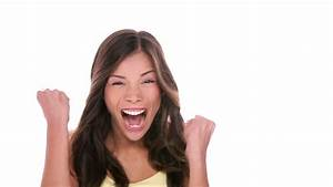 Caucasian Woman Surprised Face Stock Footage Video 4797911 ...