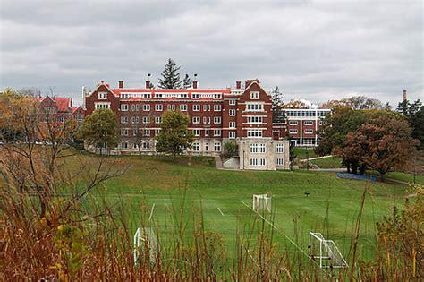 evans hall fall  campus  carleton college
