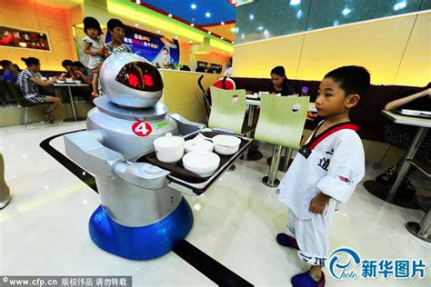 China's Largest Robot Restaurant is Crawling with WALL-E ...