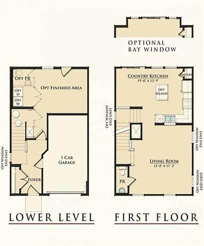 Ryan Homes Floor Plans Plan Townhouse Wexford