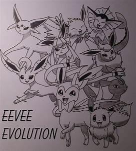 Pokemon: Eevee's Evolution: by xBROTHERxFEZELx on DeviantArt