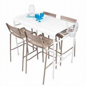 Table 4 Personnes : table haute luxembourg 4 personnes 126 x 73 cm ~ Melissatoandfro.com Idées de Décoration