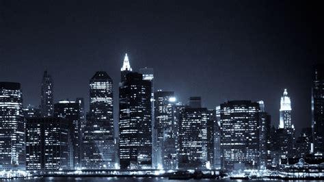 Skyline Background Manhattan Skyline Wallpaper Wallmaya