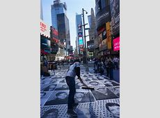 "Streets JR – ""Inside Out NYC"" Time Square « Arrested"