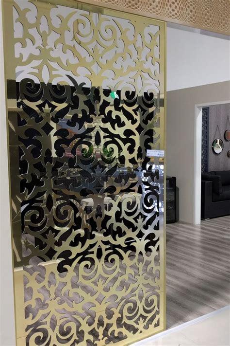 baroque wall room divider laser cut screen