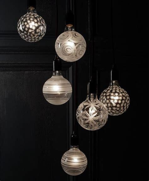 orrefors light shadows decorative lightbulb contemporary