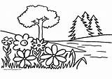 Coloring Garden Pages Print sketch template