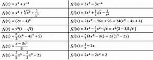 Ableitungen Berechnen : summenregel und differenzregel 2 3 aufgaben fit in mathe ~ Themetempest.com Abrechnung