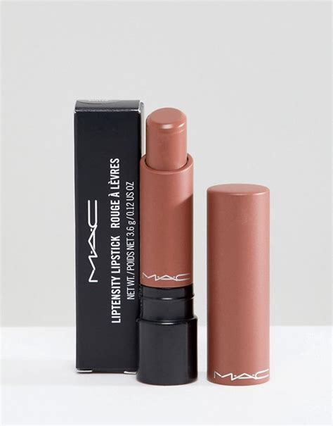 mac toaster mac liptensity lipstick toast and butter asos