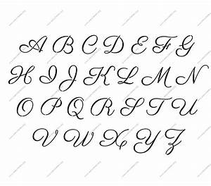 Free printable alphabet stencil letters template art for Large wooden letter patterns