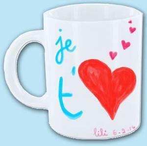 Tasse Fete Des Meres : tasse je t 39 aime pour la f te des m res ~ Teatrodelosmanantiales.com Idées de Décoration