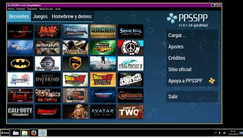 Descargar juegos para ppsspp, juegos psp mega un link, como descargar juegos para psp, iso, cso, mediafire, ppsspp, download, gratis ppsspp es un emulador de psp (playstation portable) capaz de reproducir la gran mayoría del catálogo de la primera consola portátil de sony en la pantalla de. Compatibilidad Emulador ppsspp (PSP) - Juegos - Taringa!