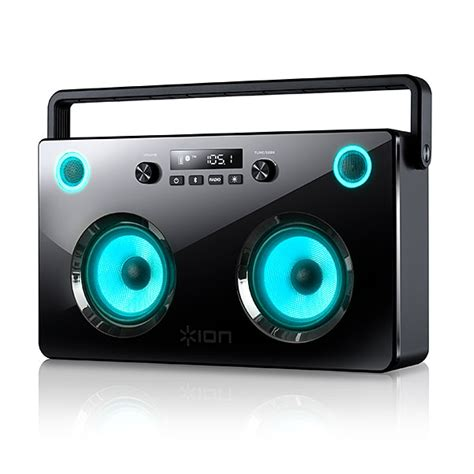 light up subwoofers spectraboom wireless boombox with light up speakers
