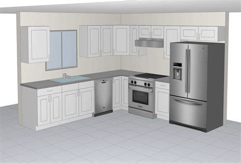 10x10 kitchen cabinets with island 10x10 sle kitchen the rta cabinets