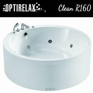 Freistehende Badewanne Mit Whirlpool : freistehende whirlpool badewanne clean r160 optirelax ~ Bigdaddyawards.com Haus und Dekorationen