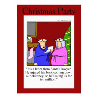 christmas humor party invitations