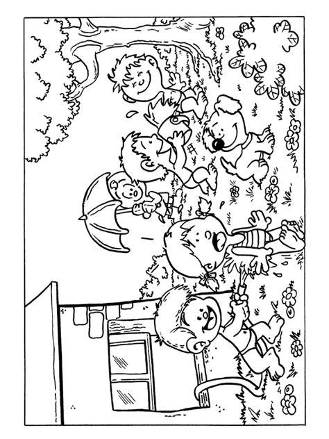 Kleurplaat Nijntje In De Winter by Kleurplaat Spelen Met Water In De Tuin Kleurplaten Nl