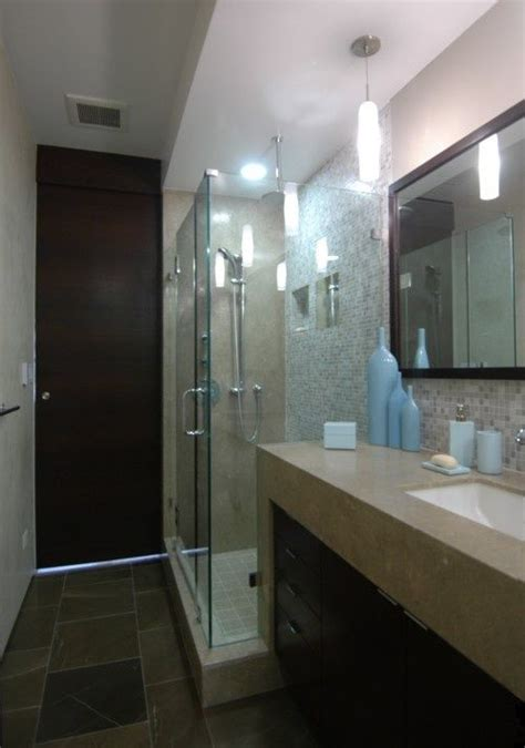 Modern Narrow Bathroom by 82 Best Images About Home Bathroom Narrow On