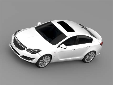 vauxhall insignia wagon vauxhall insignia hatchback ecoflex 2015 3d model max obj