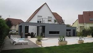 extension rehabilitation d39une maison individuelle With cout d une extension de maison