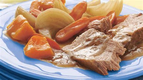 cuisine sans lactose rôti de porc érable et sauge à la mijoteuse vivre
