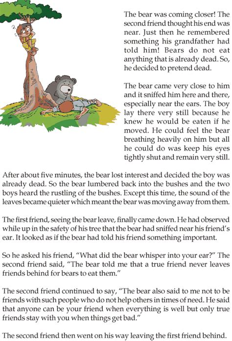 grade  reading lesson  fables  folktales
