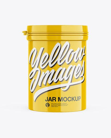 Contains special layers and smart objects for your work. Download Glossy Jar Mockup - Front View Object Mockups ...