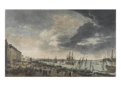 joseph vernet le port de bordeaux le port de bordeaux impression gicl 233 e par claude joseph vernet sur allposters fr