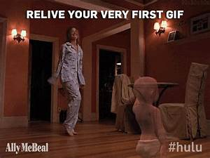 Ally Mcbeal Television GIF - Find & Share on GIPHY