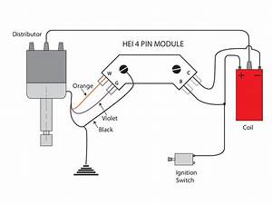 4 Pin Hei Ignition Module Wiring Diagram