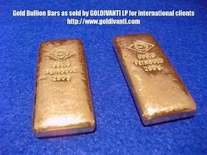 Gold Bullion Bars For Sale And International Gold Bullion