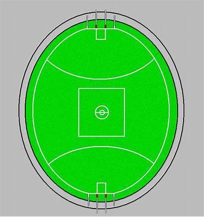 Afl Football Clip Stadium Field Blank Template