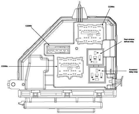 2008 Mercury Mariner Fuse Box by Mercury Mariner Fuse Box Mercury Auto Wiring Diagram