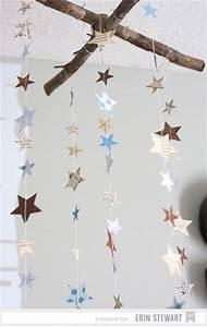 Sterne Deko Kinderzimmer : ber ideen zu sternen girlande auf pinterest girlanden papiergirlanden und papiersterne ~ Markanthonyermac.com Haus und Dekorationen
