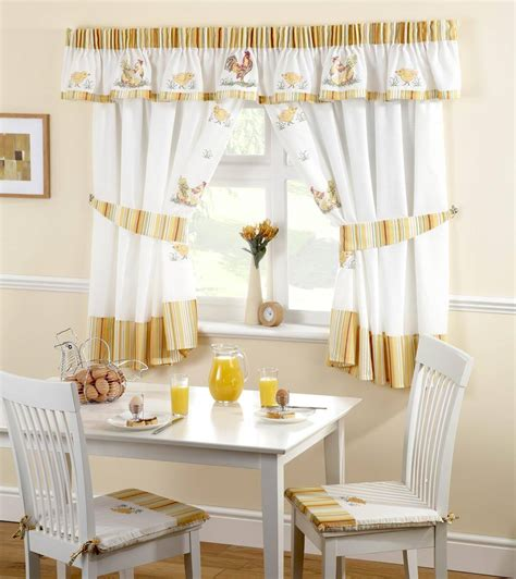 20 Useful Ideas Of Rooster Kitchen Curtains As Part Of
