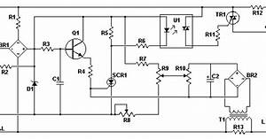 Identify Diagram  Ac Motor Speed Controller Circuit With