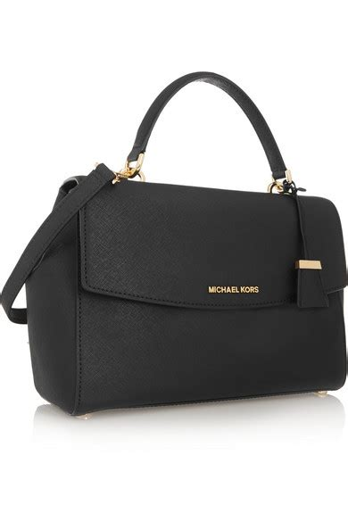michael michael kors medium textured leather