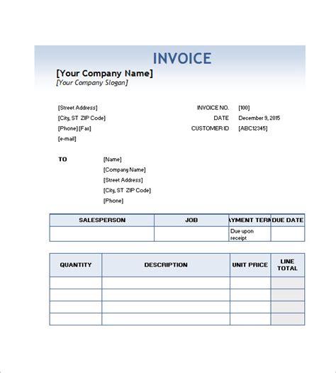 service invoice template  dascoopinfo