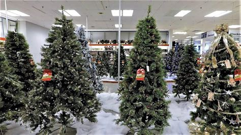 christmas trees at big lots 4k christmas section at sears christmas shopping 5896