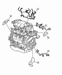 Chrysler Town  U0026 Country Wiring  Powertrain   Mid Model
