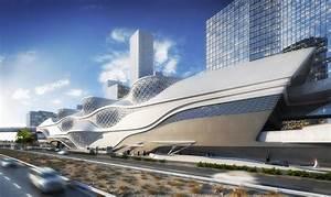 Zaha Hadid Architektur : zaha hadid baut u bahn station in saudi arabien dreidimensionale sinuskurven architektur und ~ Frokenaadalensverden.com Haus und Dekorationen