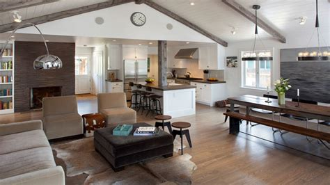Open Kitchen Dining Living Room Designs 20 X 20 Open