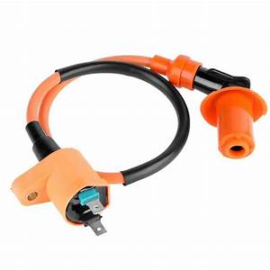 Ignition Coil Gy6 50 150cc With Cable For Atvs Scooters Go
