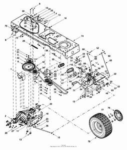 Mtd 14az804p401  1999  Parts Diagram For Drive  Wheels