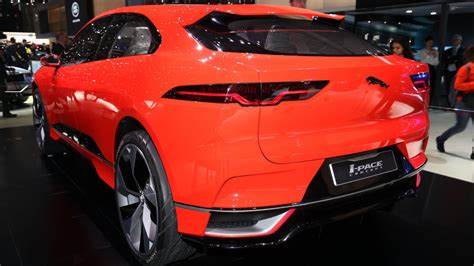 Jaguar Ipace Concept Is Red And Ready For Euro Debut