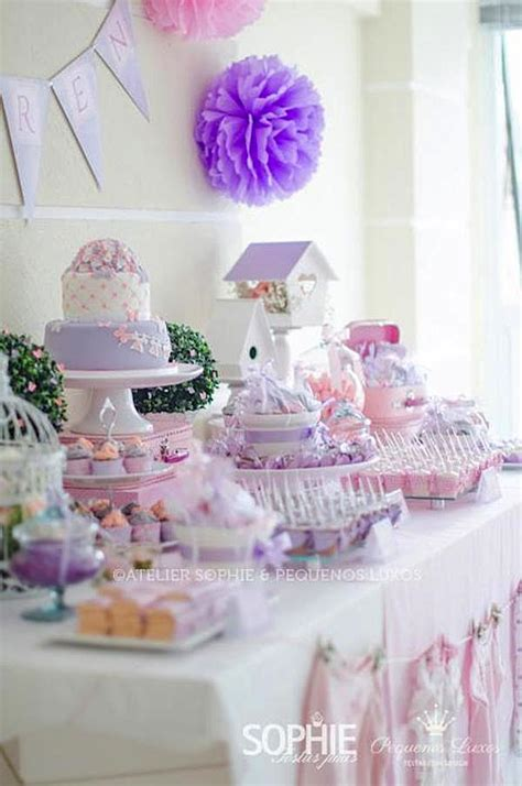 baby shower themes girl purple and pink baby shower ideas this color scheme