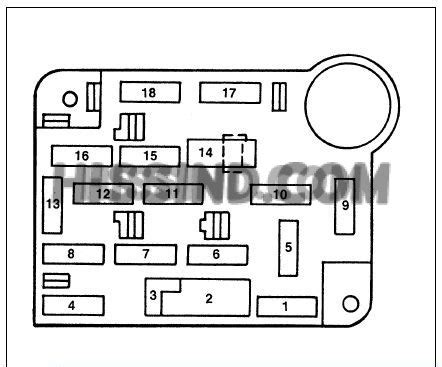 ford mustang fuse box relay diagram  hood