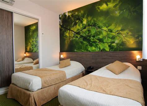 hotel lyon dans la chambre chambre quot nature quot hotel dauly lyon bron